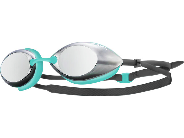 TYR Tracer Racing Goggles Metelized Women mint/grey